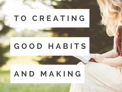 The Secret to Creating Habits that Stick
