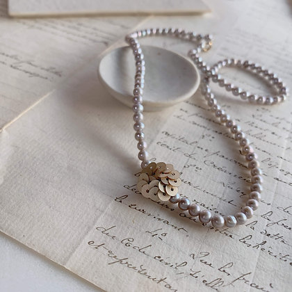 Spangle pearl Necklace / Akoya