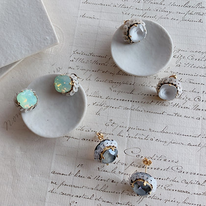 Swarovski Cushion Earrings