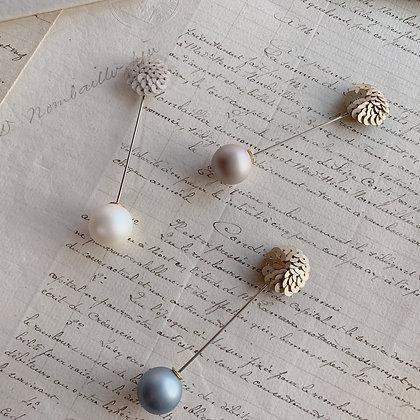Spangle Pin Brooch