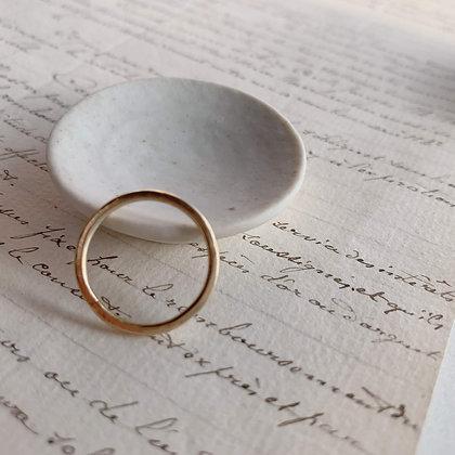 K10 Hammered Ring