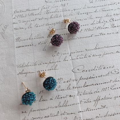 """""""Caviar"""" Earrings / petit"""