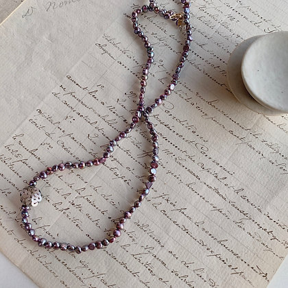 Spangle pearl Necklace