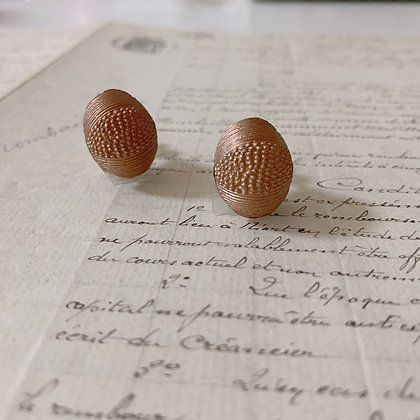 Vintage Button Earrings / イヤリング