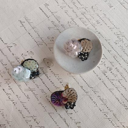 """""""Boule trois"""" Earrings / single"""