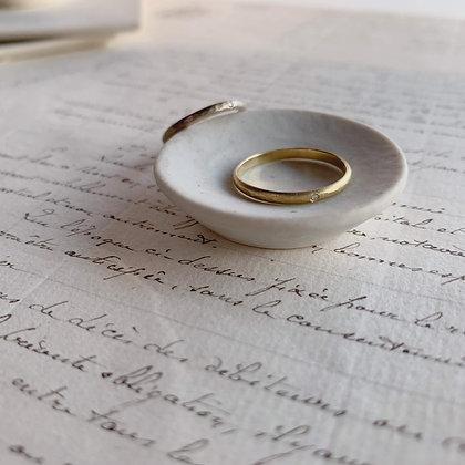 Green Gold Ring