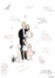 Bröllopsporträtt