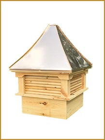 """30"""" Cupola Copper Roof"""