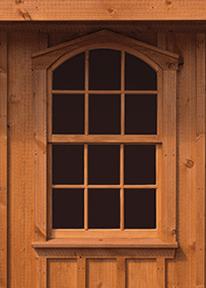 Round-top Windows