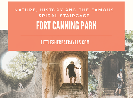 A guide to Fort Canning Park: Nature, history and the instagram famous spiral staircase