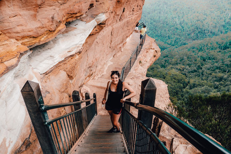 Nature Pass Hike Blue Mountains Australia