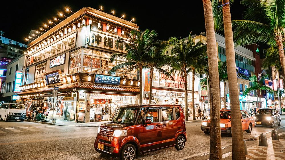 Kokusai Dori Street, Naha City, Okinawa