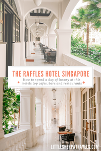 Raffles Hotel Singapore top bars restaurants