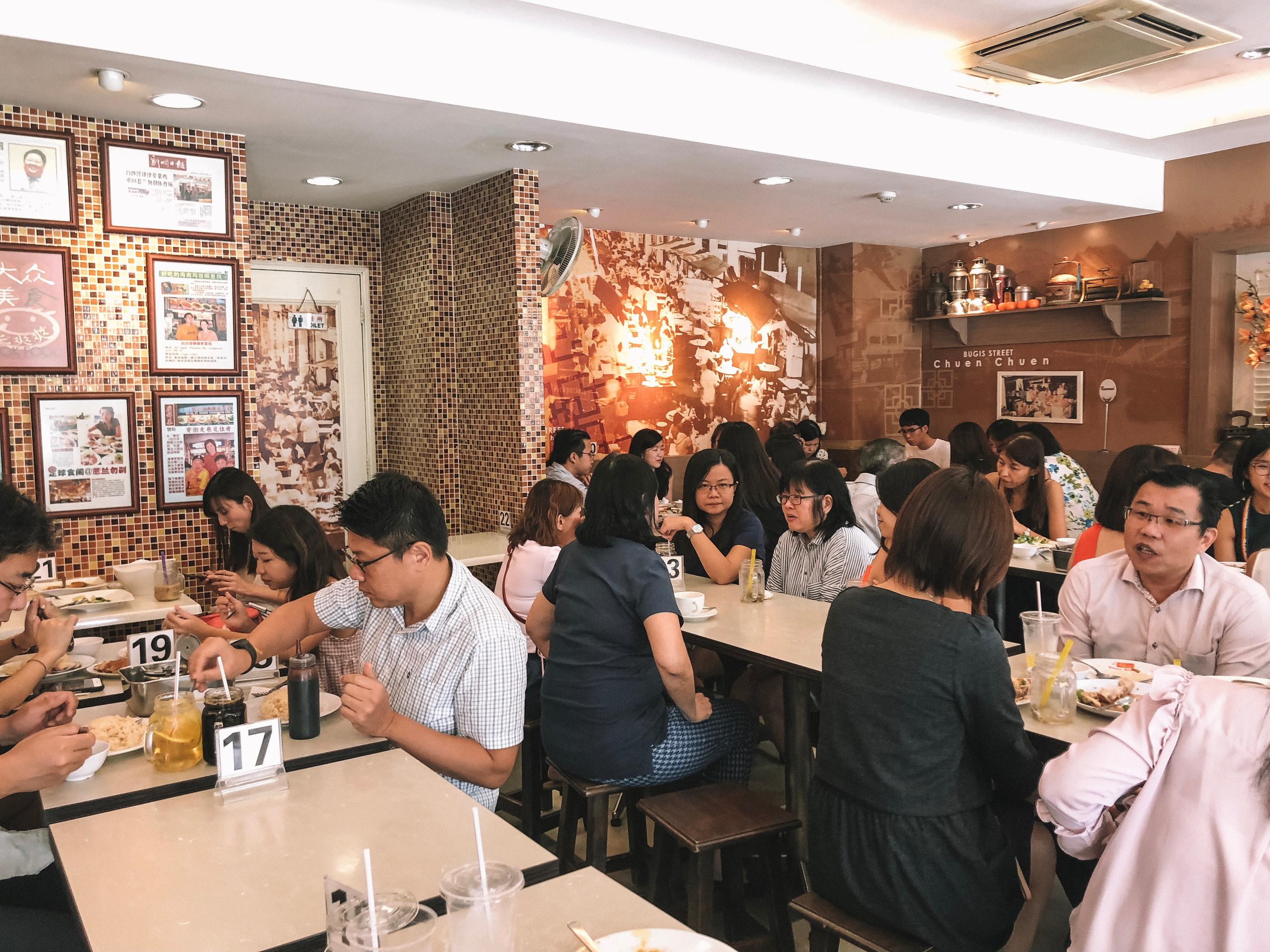 Singapore Chuen Chuen restaurant best local food Bugis Tan Quee Lan St