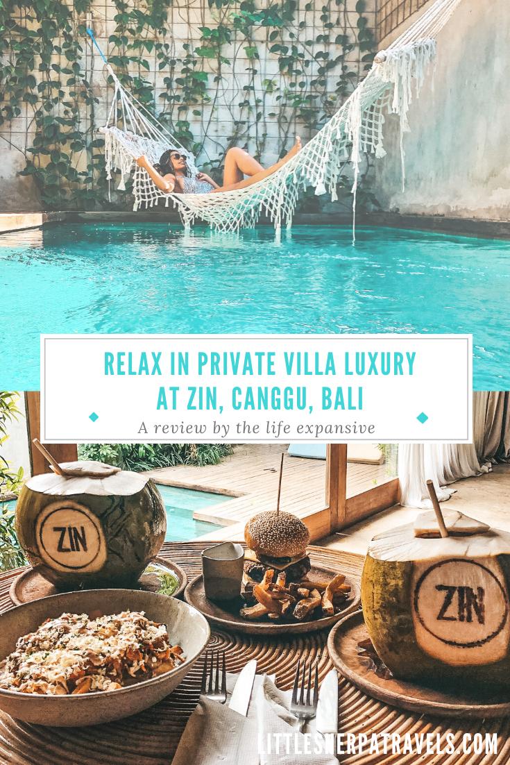 Zin Canggu Bali Vila hotel review