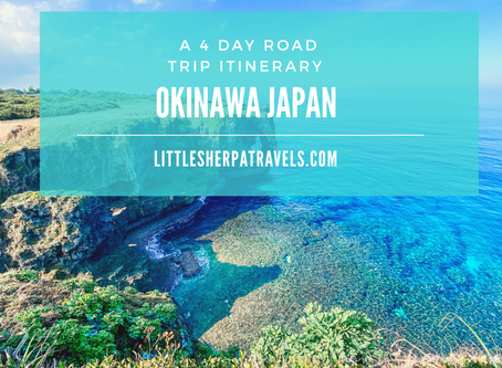 4-Day Okinawa Japan Road Trip Guide: A complete itinerary to experience the best of Naha Island