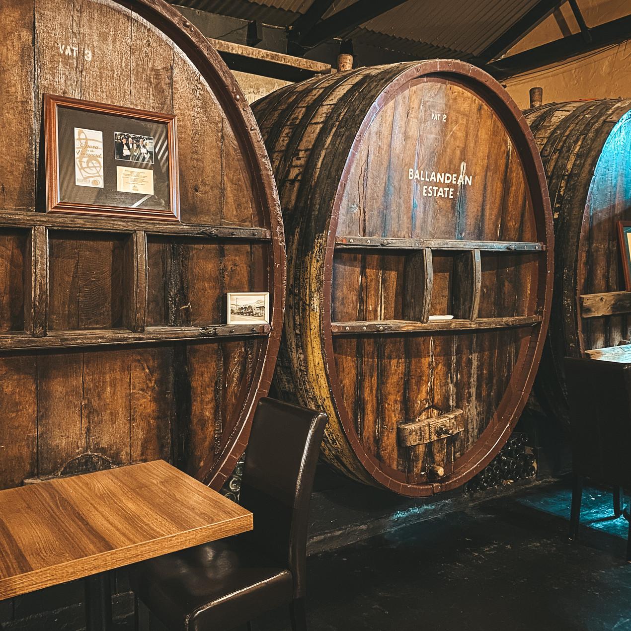 The Barrelroom Ballendean Estate winery Stanthorpe