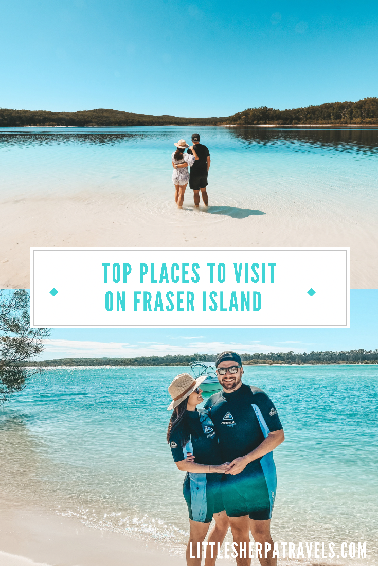 7 Places you Can't miss seeing on K'Gari, Fraser Island, Queensland