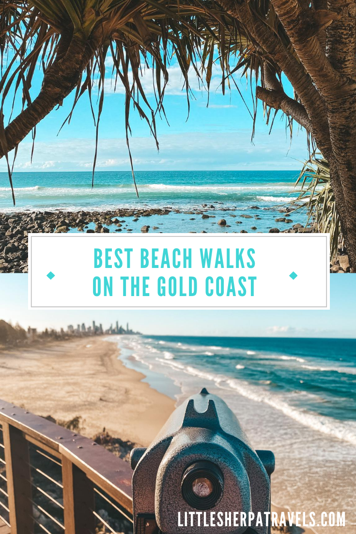 A guide to the top beach walks on the Gold Coast, Queensland
