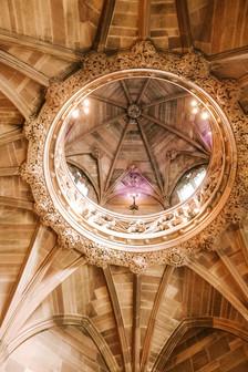 John Rylands Library ceiling manchester