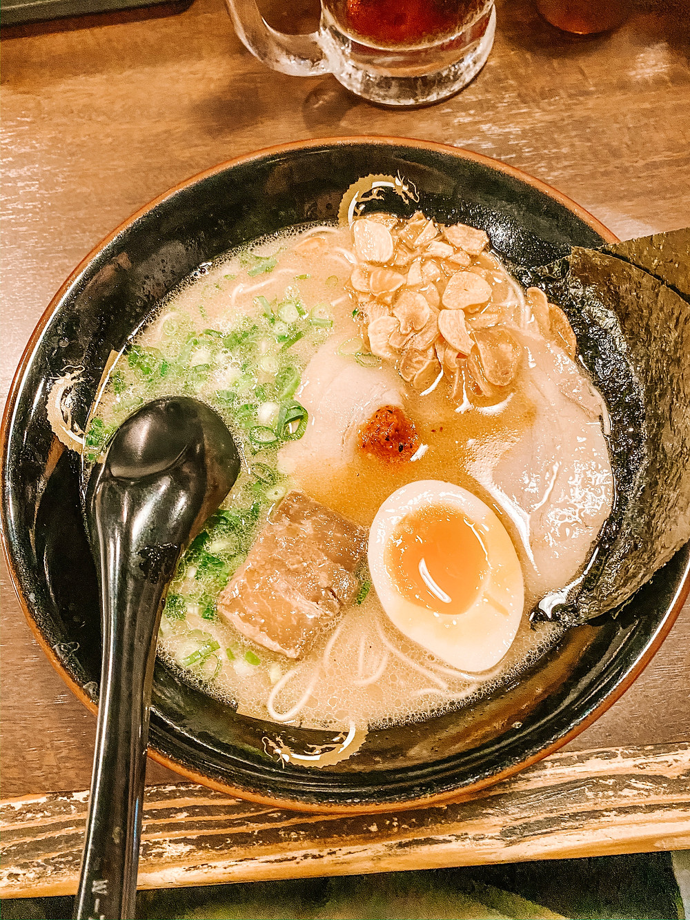 Okinawa Ramen noodles must try food