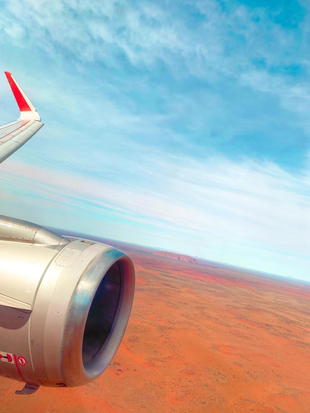 Jetstar Brisbane to Uluru Ayres Rock