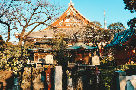 Senso-ji temple tokyo asakusa japan travel blog best temples to see in a weekend