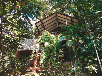 Tioman Island Malaysia Japamala Resort Tree top chalet