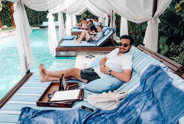 Elysian Villa hotel Seminyak Bali pool