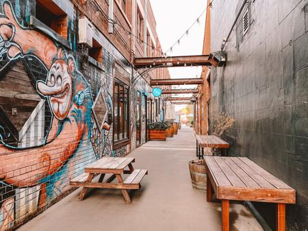 street art Toowoomba laneway