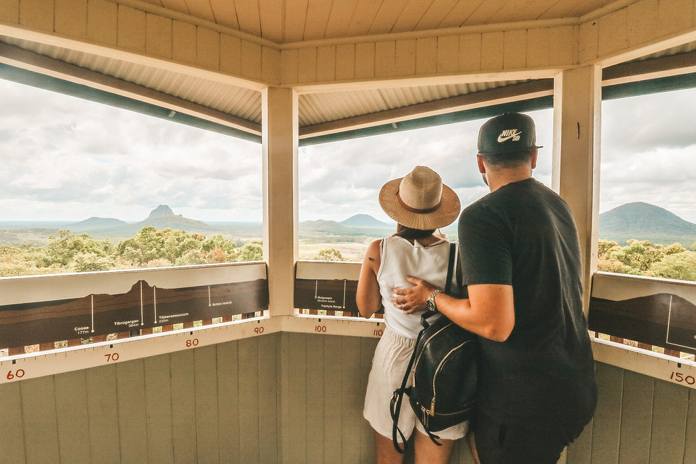 Glass House Mountains Scenic Lookout, Woodford Rd, Beerburrum