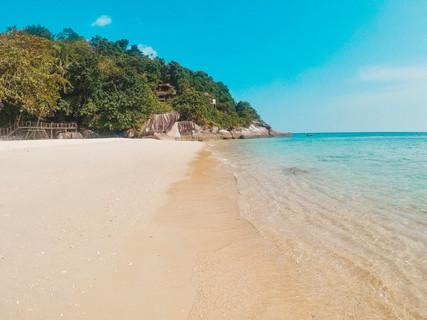 Japamala resort Tioman Island Malaysia beach