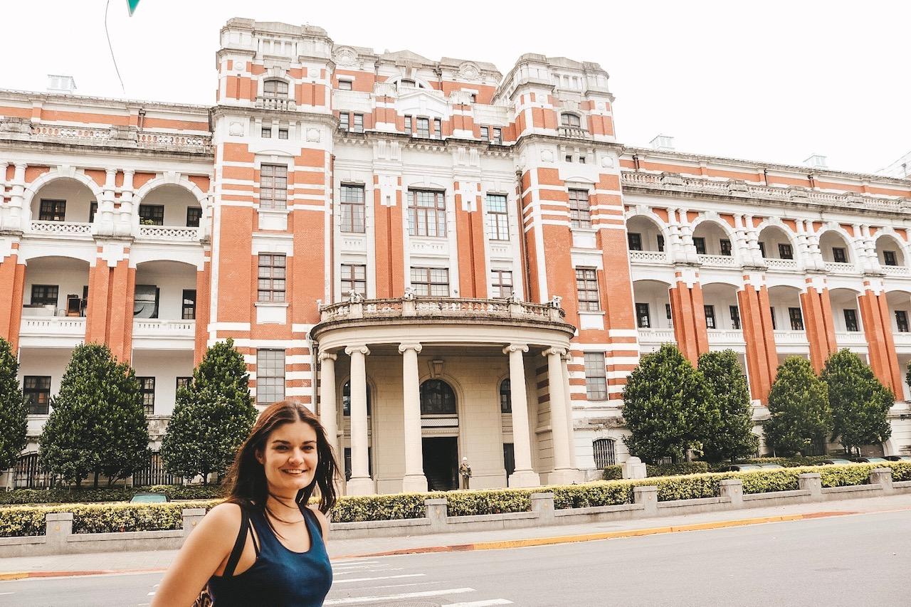 Taipei Parliament house taiwan