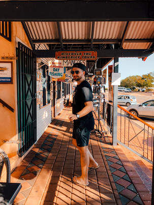 Broome city centre western australia