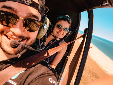 Willie Creek Scenic flight Broome