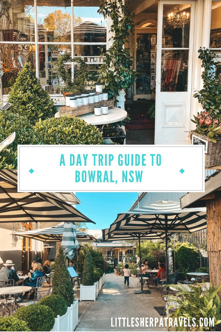 A Day trip guide to Bowral, NSW Southern Highlands, Australia weekend travel guide