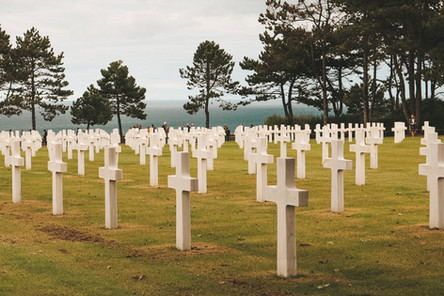 American Cemetery museum omaha beach normandy france dday