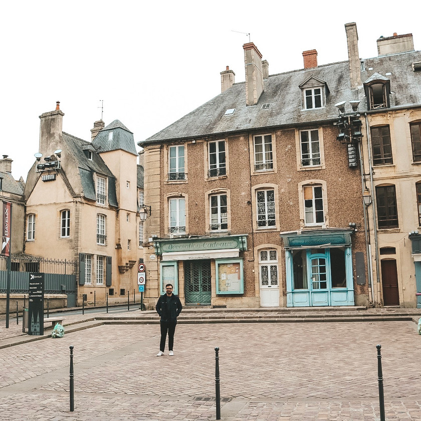 Bayeux normandy france buildings