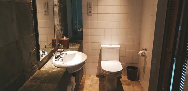 Alila Hotel Ubud where to stay bathroom travel guide bali ubud