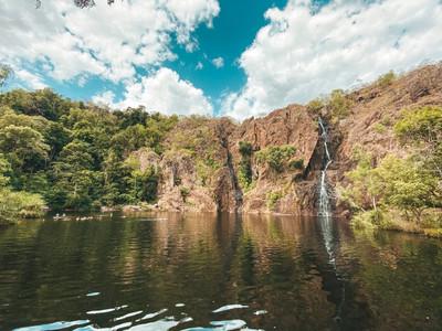 Wangi falls litchfield national park darwin northern territory