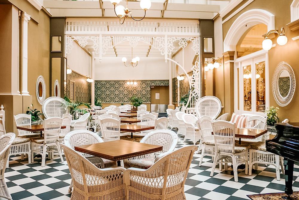 Hadleys orient Hotel Hobart interior