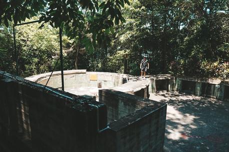 Penang War Museum Malaysia fort pow camp