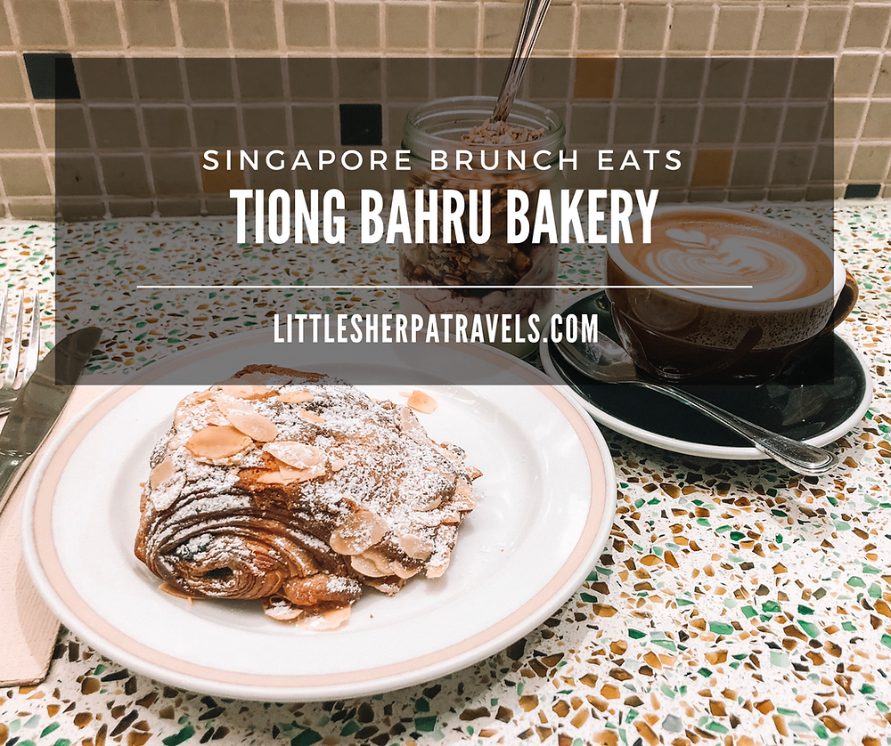 Tiong Bahru Bakery Raffle City Singapore, for french croissants