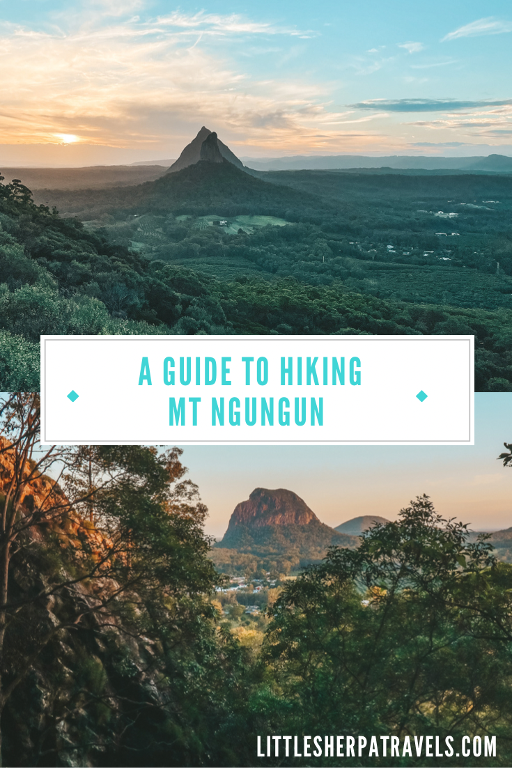 Your ultimate guide to hiking Mt Ngungun, Glass House Mountains National Park, Sunshine Coast