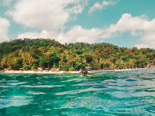 Tioman island malaysia Japamala resort snorkelling