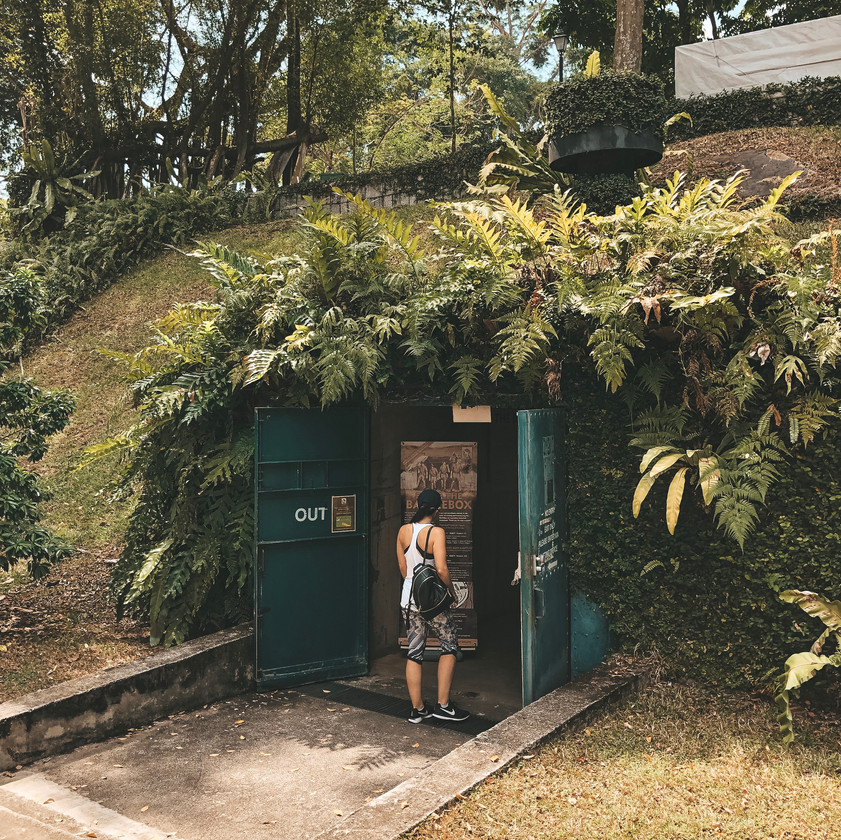 The battlebox Singapore fort canning park guide