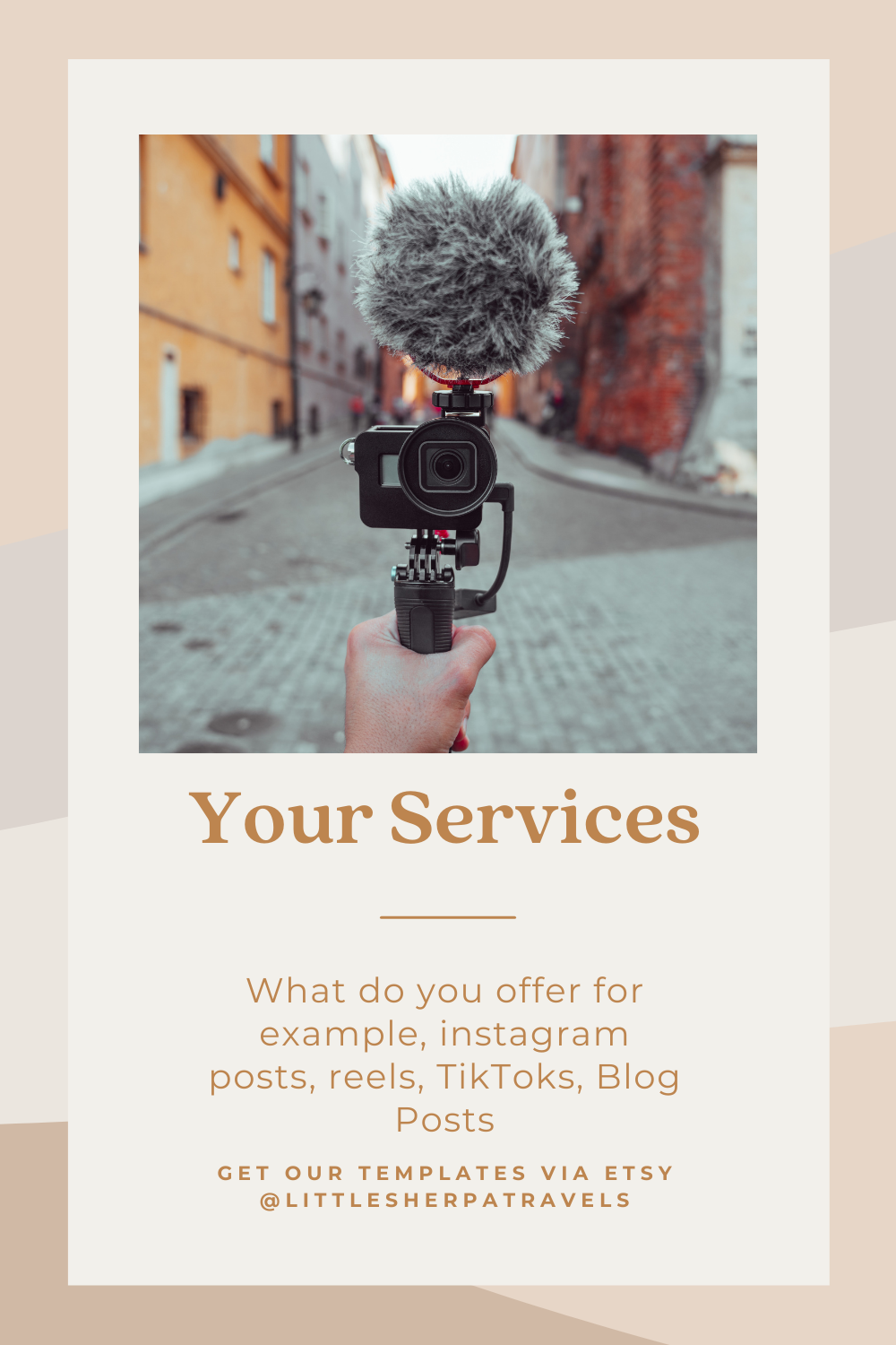 Media Kit essential elements: Your Services