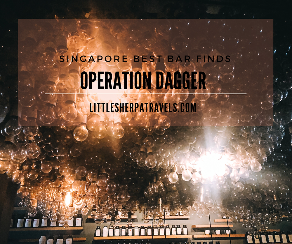 Operation Dagger: Singapores best hidden underground cocktail bar club street