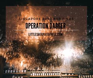 Operation Dagger: Singapores best hidden underground cocktail bar club street