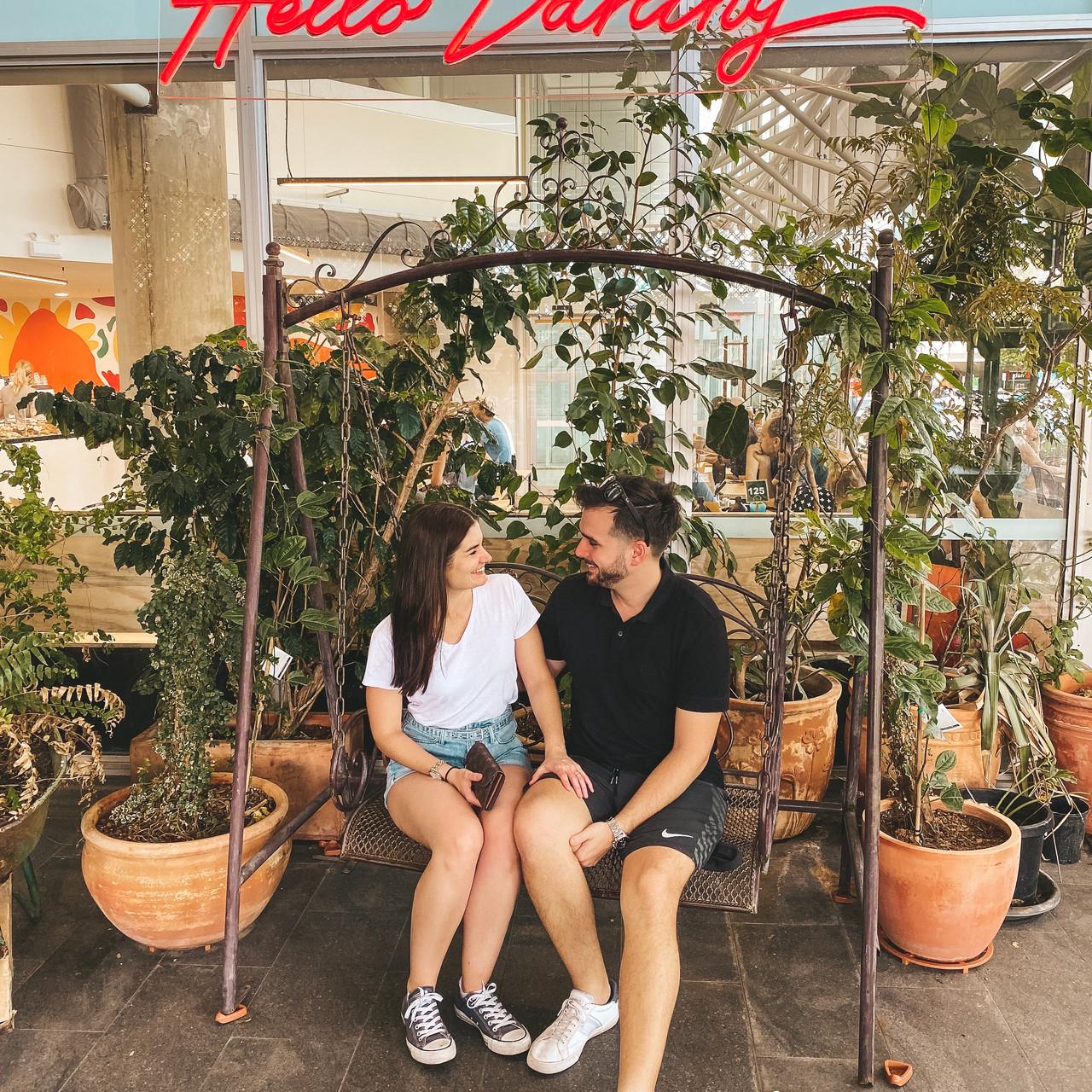 Darwin cafe Ray's Patisserie swing